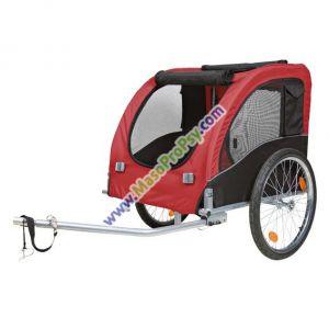 Vozík pro psa za jízdní kolo L 60x57x80cm do 40 kg