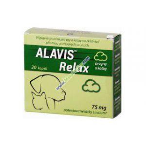 Alavis Relax pro psy a kočky 40 kapslí