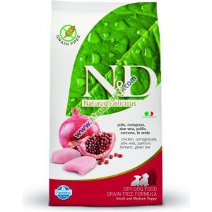 N&D Grain Free Puppy Small Medium Chicken Pomegranate 2,5 kg