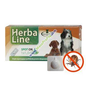 Herba Line SpotOn 1x1ml pro malé psy