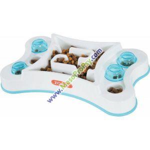 Miska proti hltání protiskluz obdélník pes 1,6l Zolux
