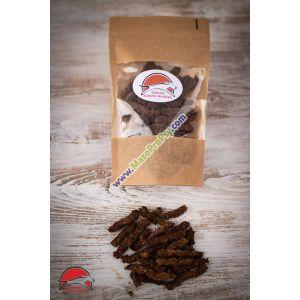 Bezobilné sušenky z vepřového jazyka, krillem, cuketou a špetkou máty 50g